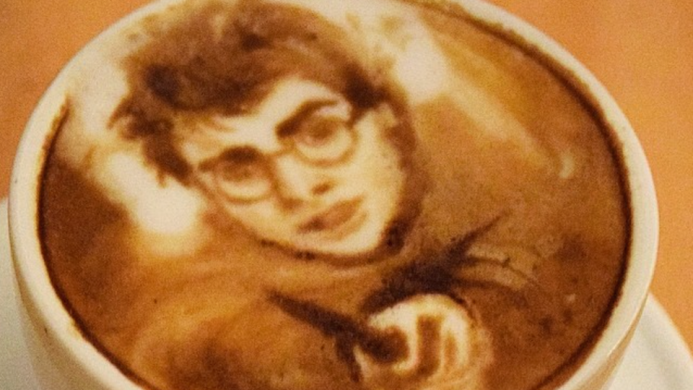 17 Celeb latte art portraits that