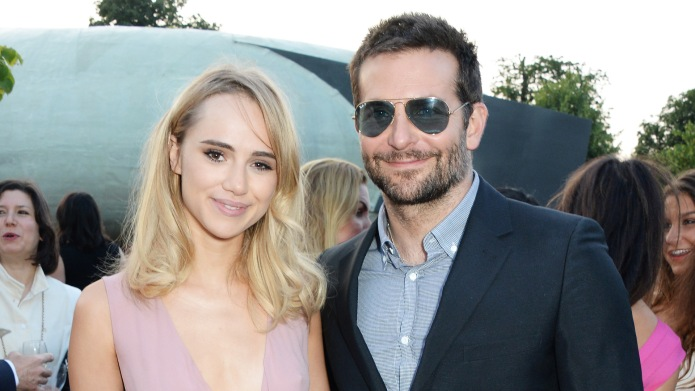 Suki Waterhouse and Bradley Cooper attend