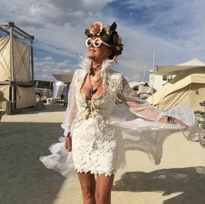 Susan Sarandon Burning Man