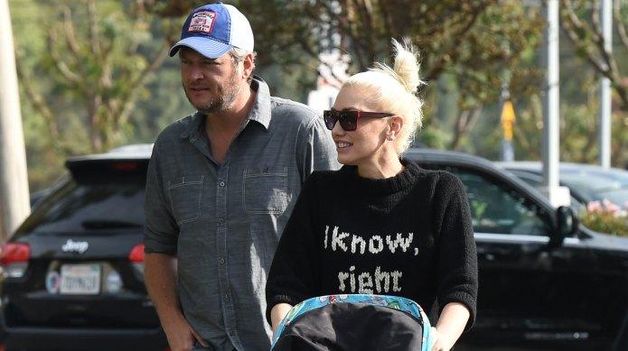 Gwen Stefani & her parents head
