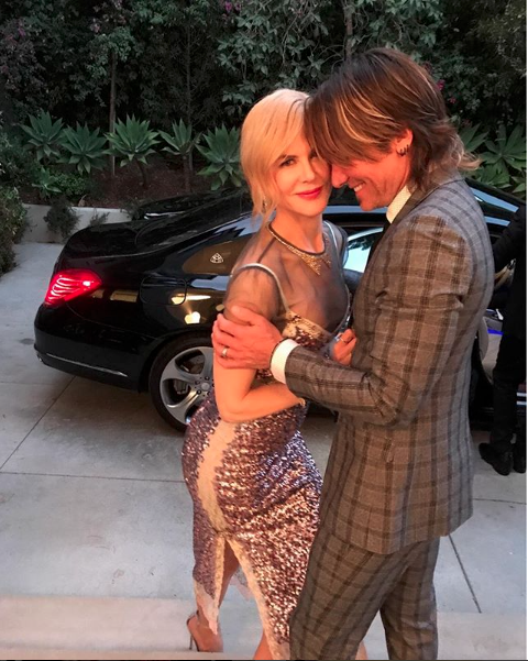 Keith Urban and Nicole Kidman Date Night