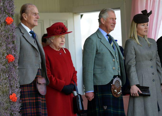 Queen Elizabeth II & Prince Philip in 2015