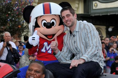 Super Bowl MVP Aaron Rodgers visits