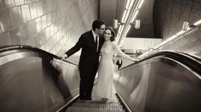 Celebrities who got married in 2017: Emmy Rossum & Sam Esmail
