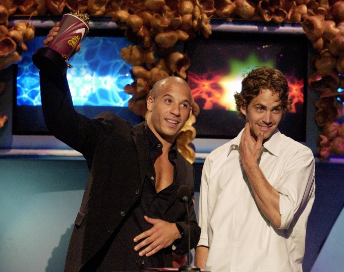 Vin Diesel and Paul Walker, MTV Movie Awards 2002