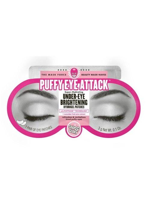 Soap & Glory Puffy Eye Attack Under-Eye Brightening Hydrogel Patches