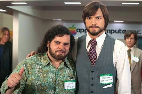 Ashton Kutcher in Steve Jobs