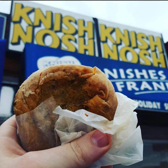 These are the best cheap eats in New York City: Knish Nosh Knishes & Franks