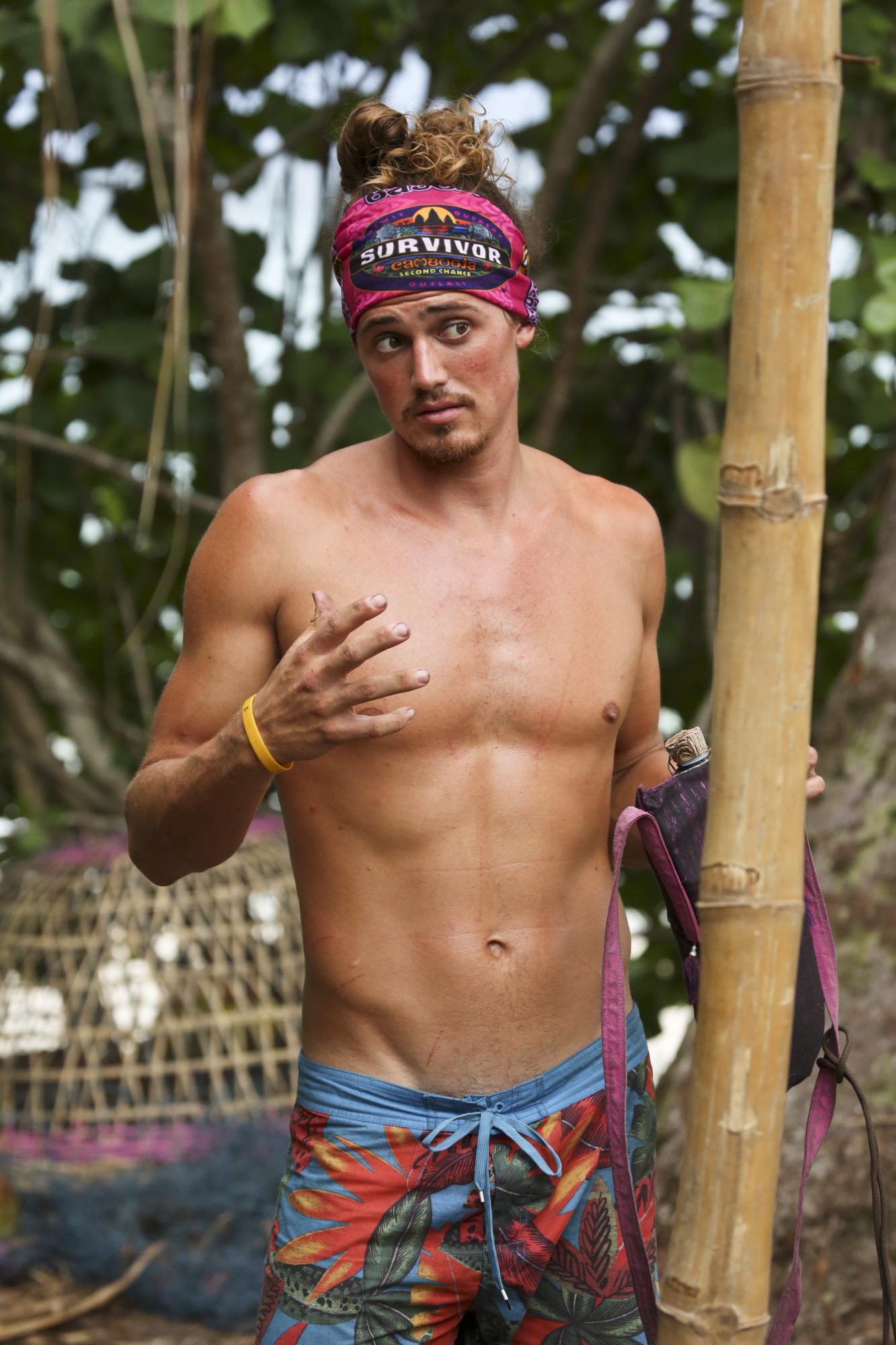 Joe Anglim talks strategy on Survivor: Second Chance