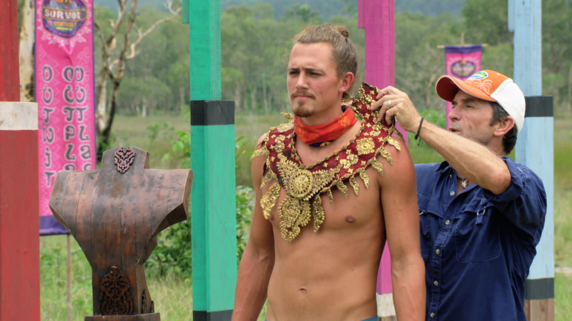 One of the countless times Joe Anglim won Immunity on Survivor: Second Chance