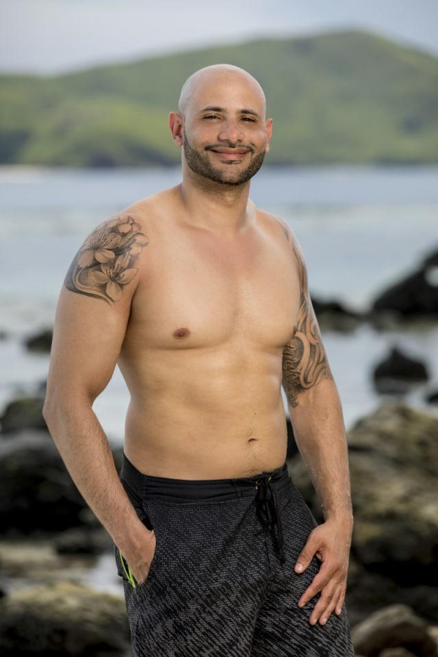 Joe Mena cast photo for Survivor: Heroes Vs. Healers Vs. Hustlers