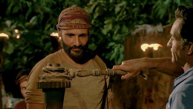 Joe Mena voted off Survivor: Heroes Vs. Healers Vs. Hustlers