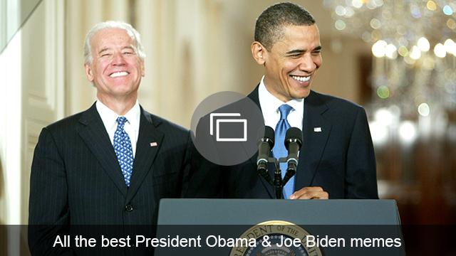 Joe Biden and Obama memes slideshow