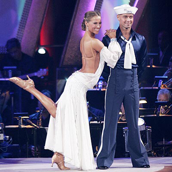 Joey Lawrence on Dancing with the Stars
