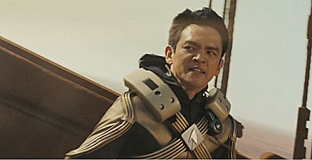 John Cho as Sulu in JJ Abrams' Star Trek