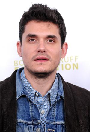 John Mayer closeup