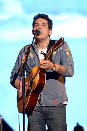 Katy Perry and boyfriend John Mayer reveal their duet artwork