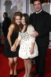 John Travolta and family