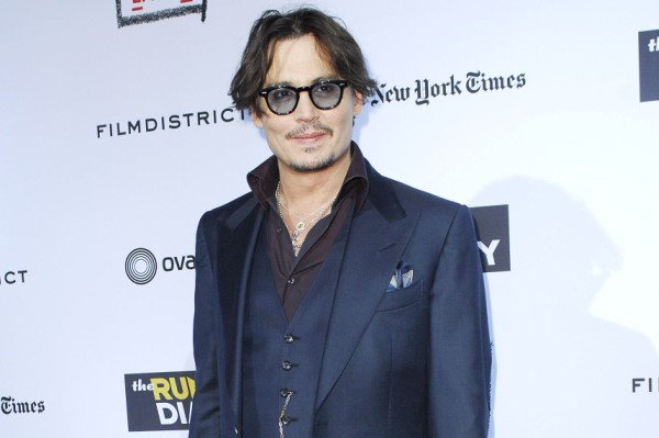 Johnny Depp, The Rum Diary premiere