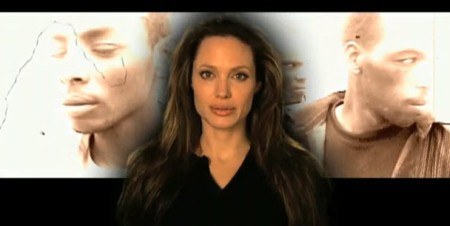 Angelina Jolie makes a plea