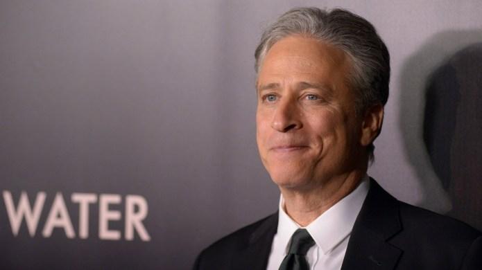 Jon Stewart takes aim at racist