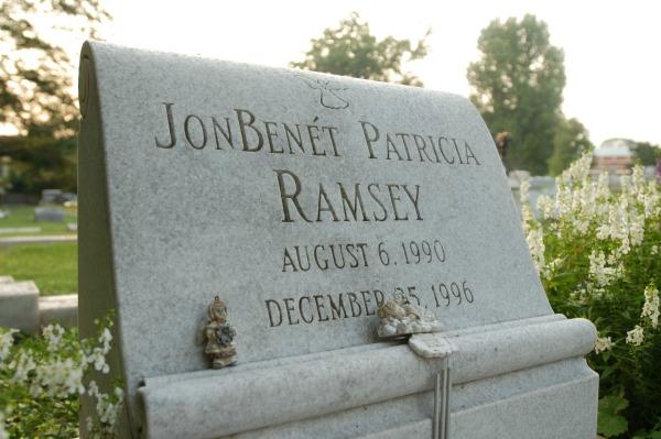 JonBenet Ramsey's grave