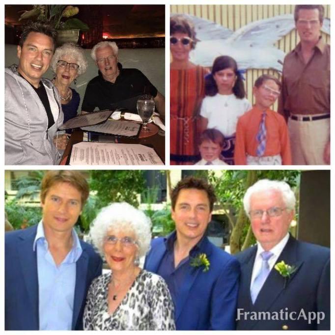 John Barrowman family