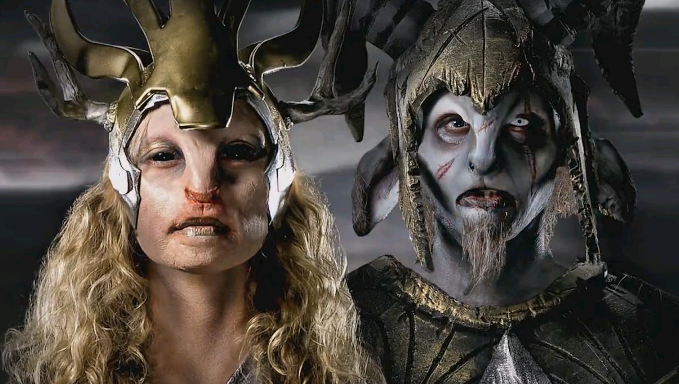 Ben Ploughman and Jordan Patton's finished gatekeeper makeups