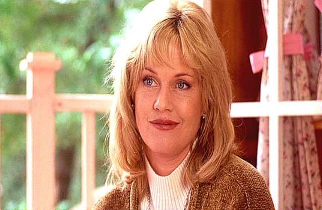 Melanie Griffith on Now and Then