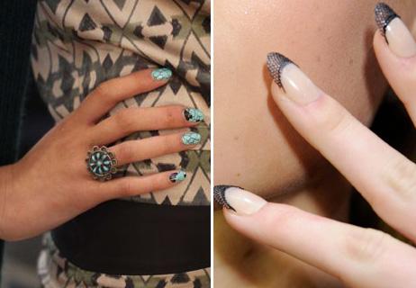 Joy Cioci and Gretcen Jones nails