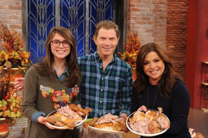 Bobby and Sophie Flay on Racheal Ray