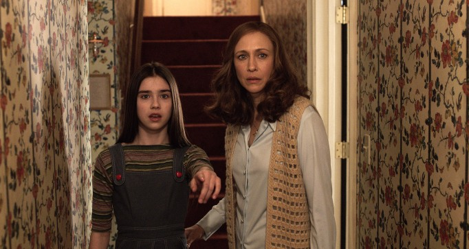 The Conjuring 2 levitation