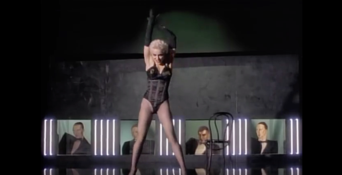 """Madonna in """"Open Your Heart"""""""