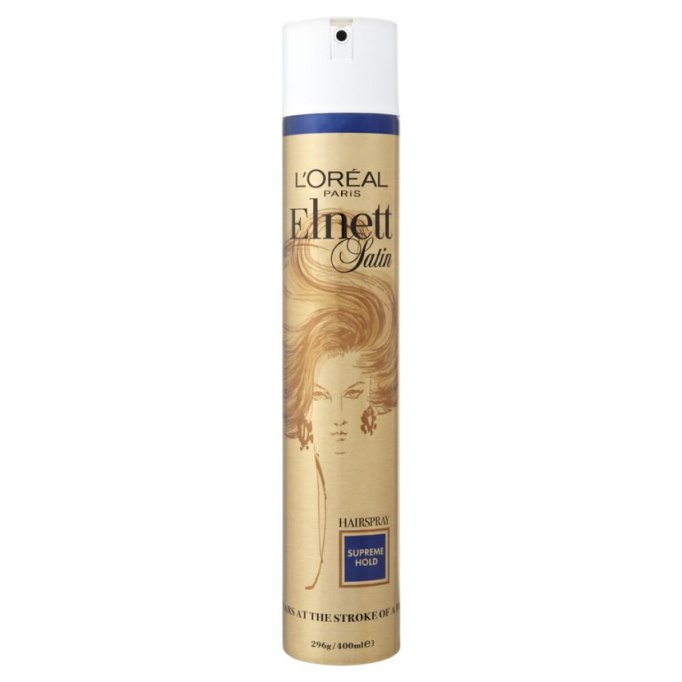 L'Oréal Elnett Satin Supreme Hold Hairspray