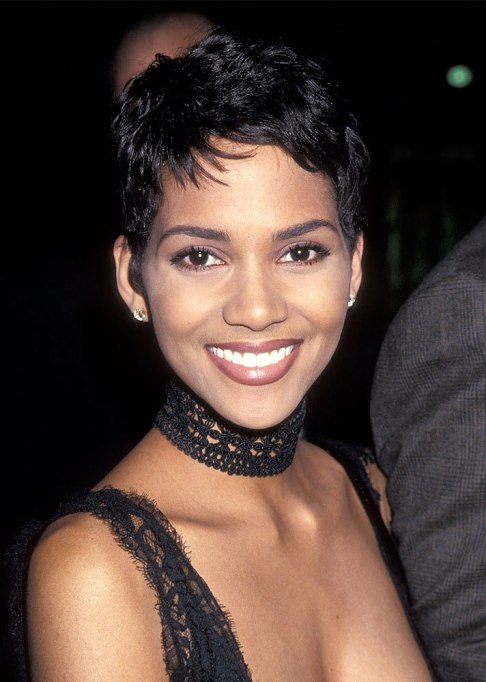 Dramatic Celebrity Hair Makeovers | After: Halle Berry