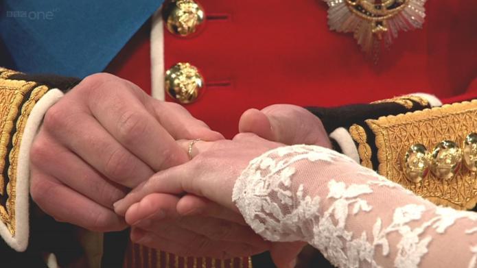 Kate Middleton's royal wedding manicure