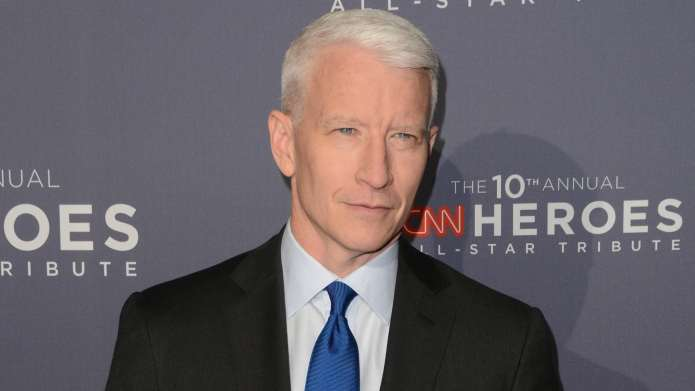 Anderson Cooper Reacting to Trump's North