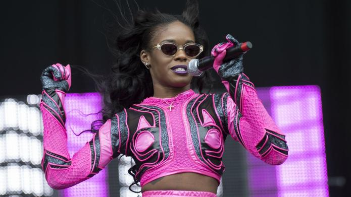 Azealia Banks dropped from her record