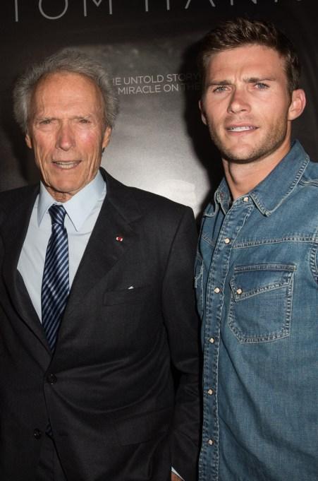Clint Eastwood and Scott Eastwood