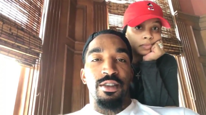 NBA star J.R. Smith's daughter was