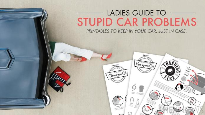 The ladies' guide to stupid car