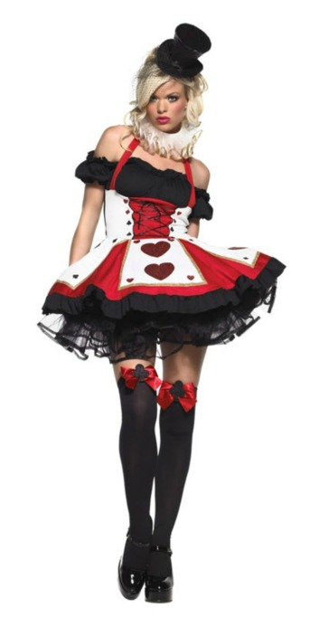 Sexy Halloween Costumes: Queen of Hearts