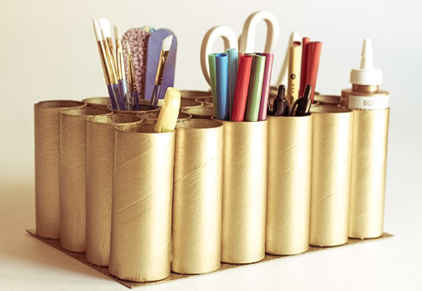 12 Chic Ways To Decorate Your Home With Toilet Paper Rolls Yes