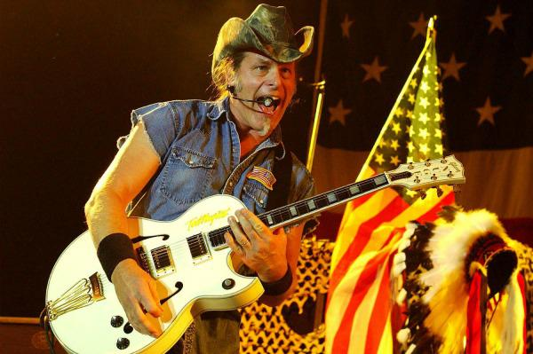 Ted Nugent has a date with