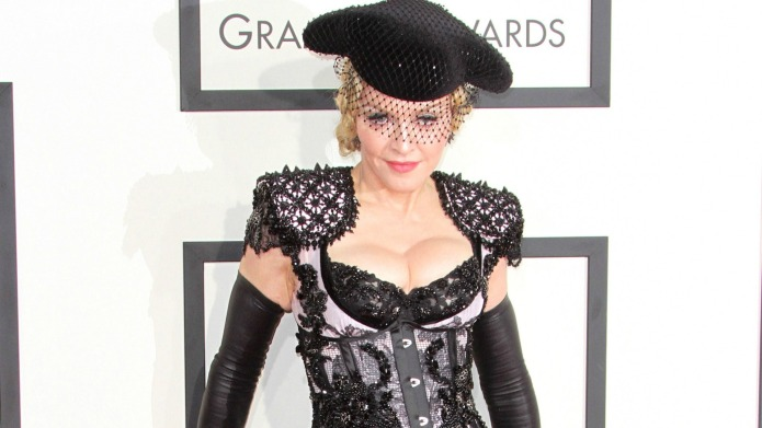 Madonna made valiant efforts to please