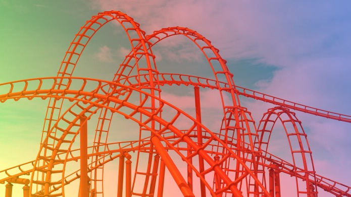 12 Scary Roller Coasters in the