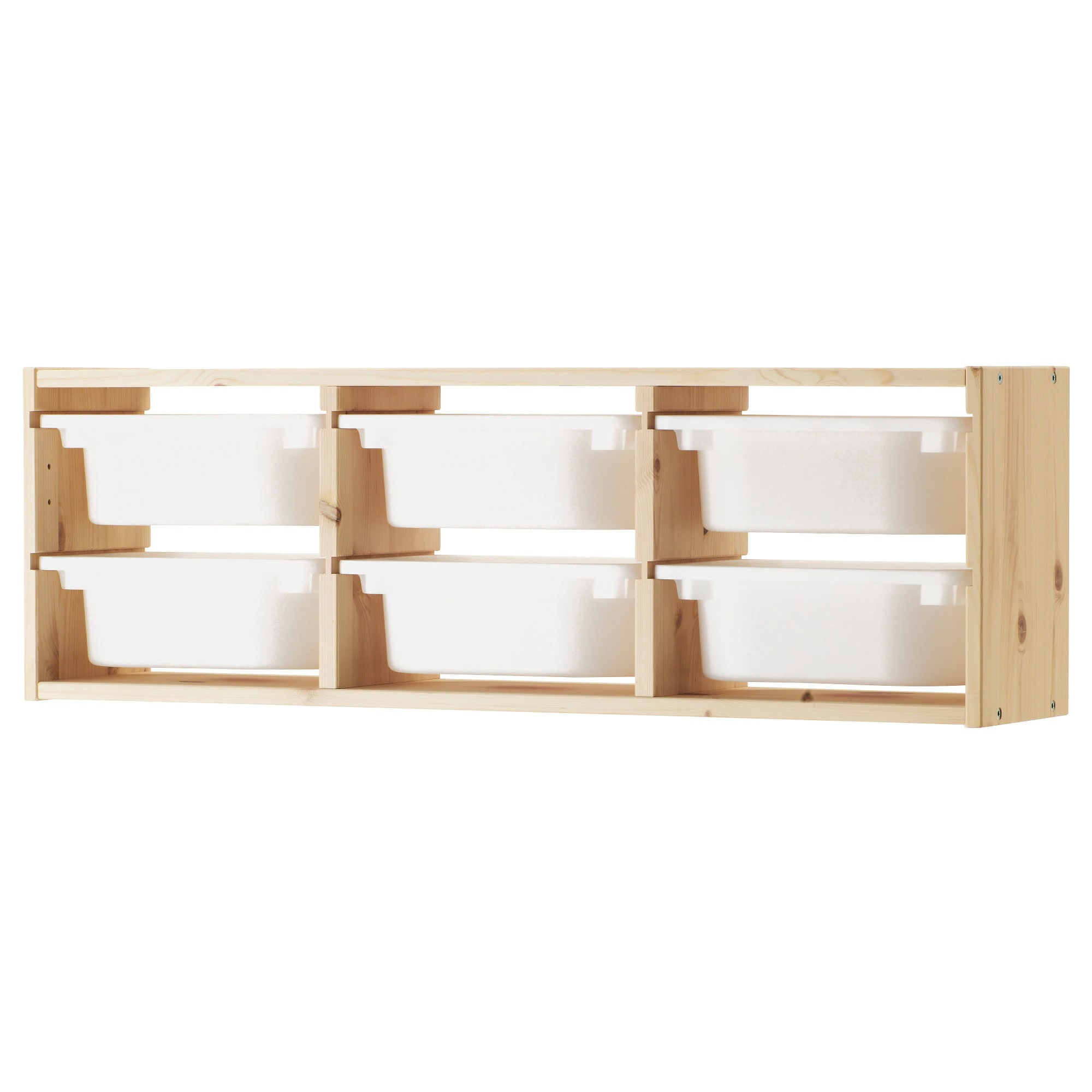 Trofast wall shelves