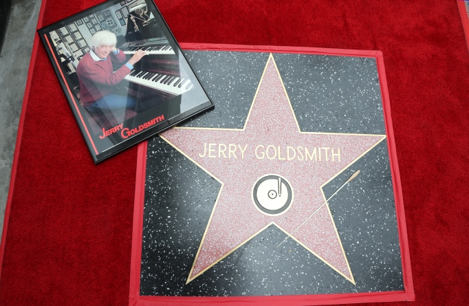 Celebrities Who Got a Star on the Walk of Fame in 2017: Jerry Goldsmith