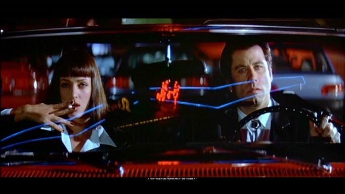 Uma Thurman and John Travolta in 'Pulp Fiction'