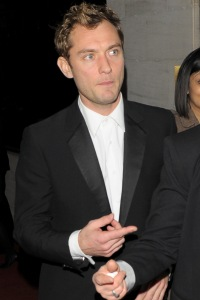 Jude Law at the Olivier Awards